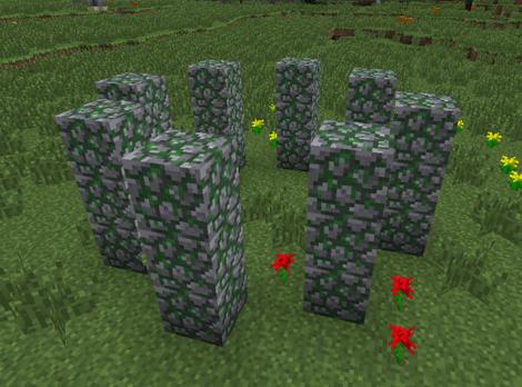 Eine Steinkreis.