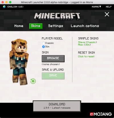 Launcher 2.0.0 alpha nobridge.png