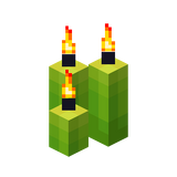 Drei hellgrüne Kerzen (Aktiv).png