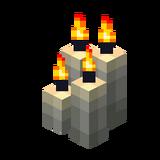 Vier hellgraue Kerzen (Aktiv).png