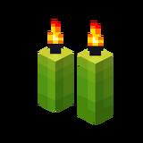 Zwei hellgrüne Kerzen (Aktiv).png