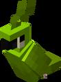 Loro verde sentándose.png