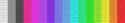 Espectro de colores de tela clásicos.