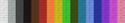 Espectro de colores de tela beta.