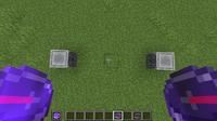 Dos brújulas apuntando a bloques diferentes.