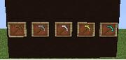los picos de minecraft