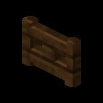 Portillon en bois de chêne noir (fermé).png