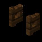 Portillon en bois de chêne noir (ouvert).png