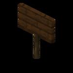 Pancarte en bois de chêne noir.png