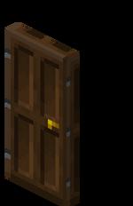 Porte en bois de chêne noir.png