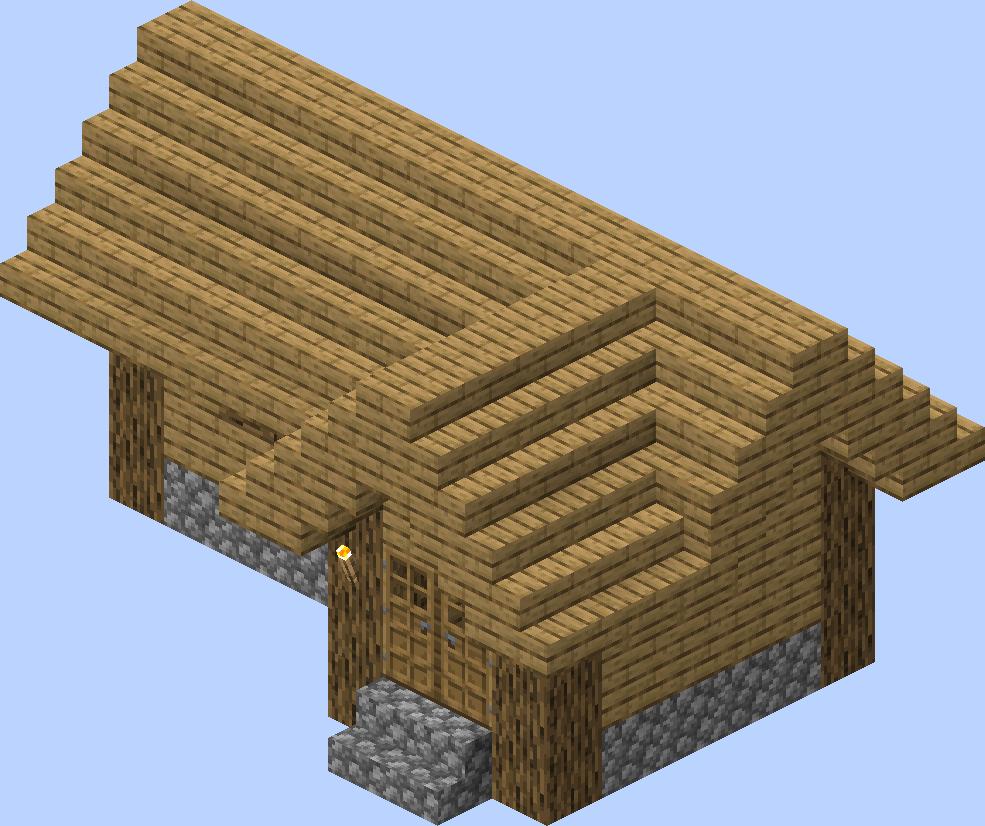 Village/Structure/Blueprints/Plains tool smith house 12 blueprint