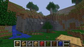 Pocket Edition v0.1.0 alpha in game.jpg