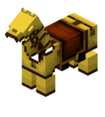 Yellow Leather Horse Armor.png