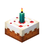 Cyan Candle Cake (lit) JE3.png