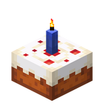 Blue Candle Cake (lit) JE3.png