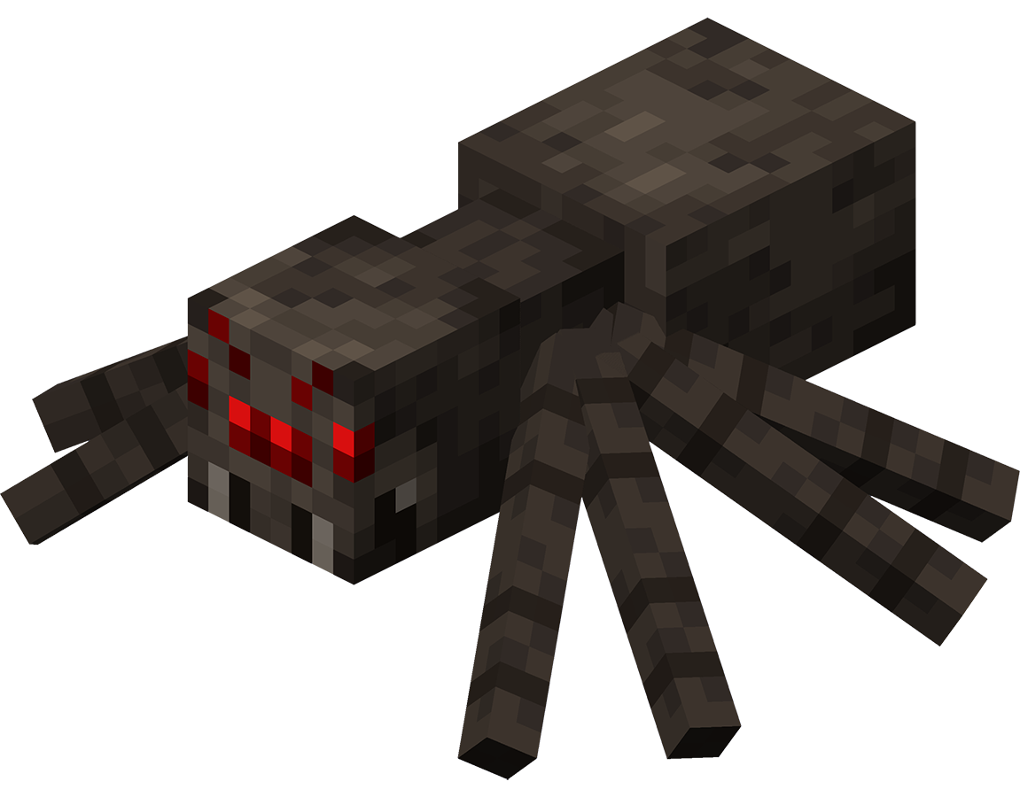 Spider official minecraft wiki for Araignees dans maison