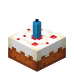Cake with Light Blue Candle JE1.png