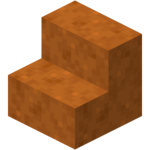 Smooth Red Sandstone Stairs (N) JE3 BE1.png