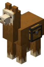 Brown Llama with Chest.png