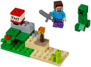 LEGO Minecraft Steve and Creeper Unboxed.png