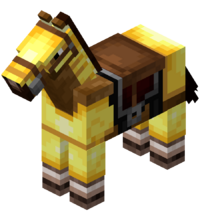 Creamy Horse (Saddle and Gold Armor).png
