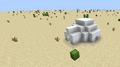 An igloo in a superflat desert