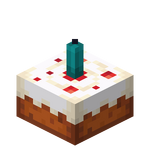 Cake with Cyan Candle JE1.png