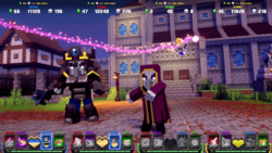 Royal Guard and Mage in MCD Arcade.png