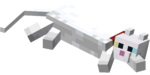 Lying down White Cat with Red Collar.png