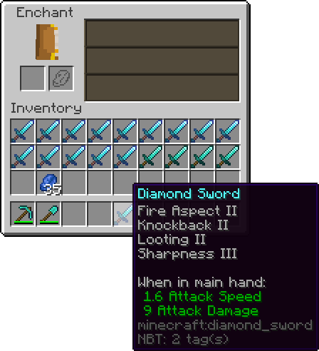 Enchanting Official Minecraft Wiki If you combine an enchanted item and a book in an anvil, you should be this would cost xp and lower the enchantments' level by 1 (so you need to start with a level 2 enchantment to get anything). enchanting official minecraft wiki