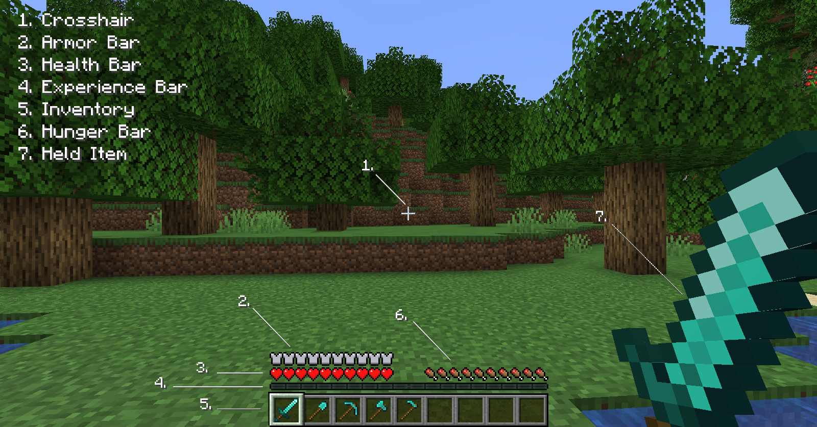 Heads-up display – Official Minecraft Wiki