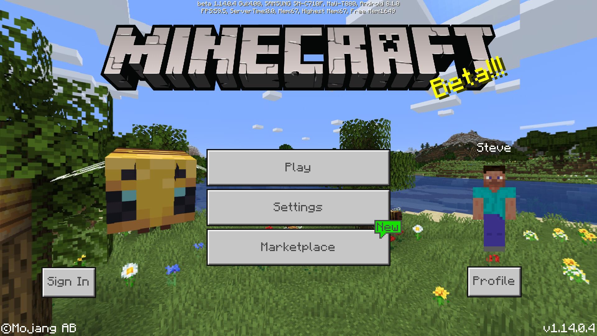 Bedrock Edition beta 1 14 0 4 Official Minecraft Wiki