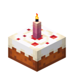 Pink Candle Cake (lit) JE3.png