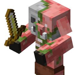 Piglin zombificado