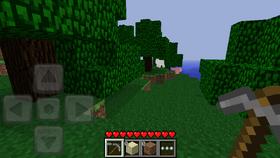 Pocket Edition v0.2.1 alpha2 in game.png