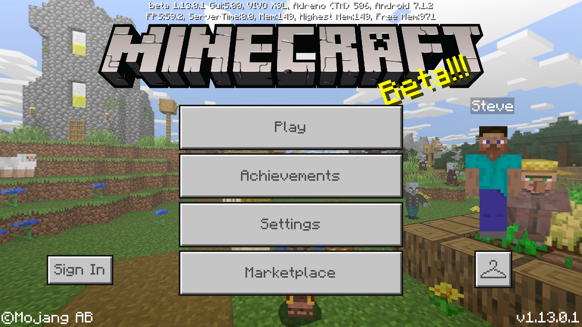 Bedrock Edition Beta 1 13 0 1 Official Minecraft Wiki