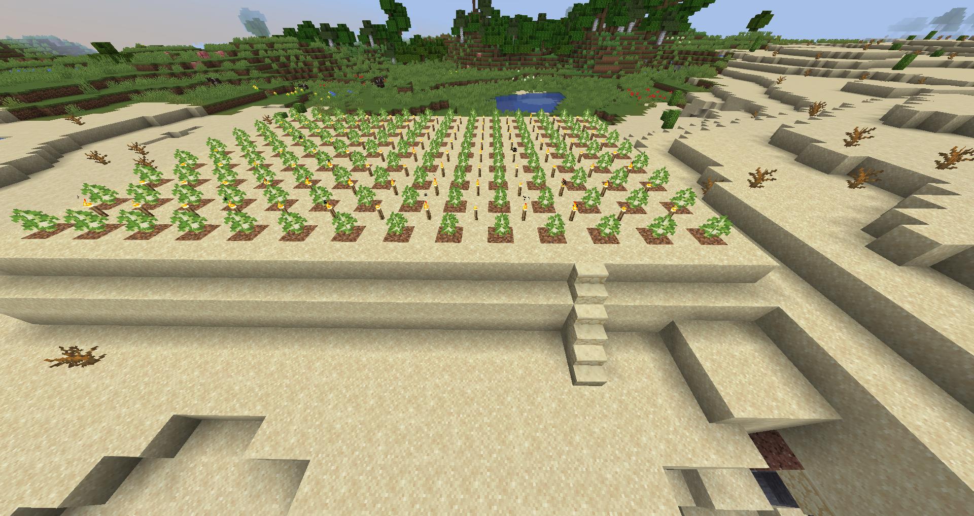 Tutorials/Tree farming – Minecraft Wiki