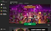 Minecraft Dungeons default section