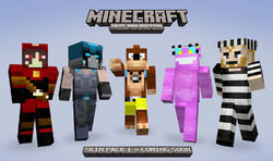 minecraft steve skin color