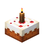 Brown Candle Cake (lit) JE3.png