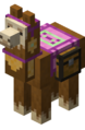Magenta Carpeted Llama with Chest.png