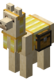 Yellow Carpeted Llama with Chest.png