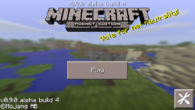 Pocket Edition 0.9.0 build 4.png