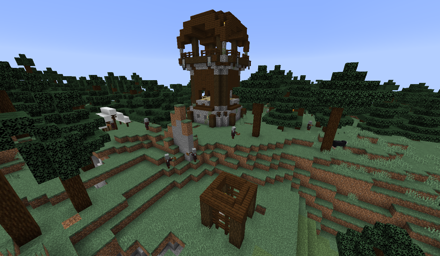Pillager Outpost – Official Minecraft Wiki