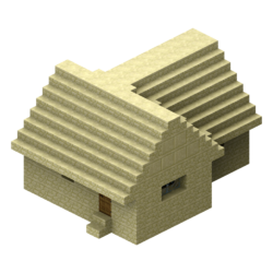 Village Structure Old Blueprints Large House Official Minecraft Wiki