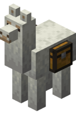 Gray Llama with Chest.png