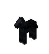 Baby Black Horse with Black Dots.png