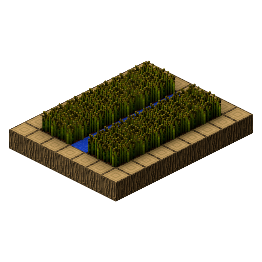Village Structure Old Blueprints Farm Official Minecraft Wiki