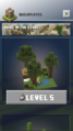 Build plate unlocked at level 5.png