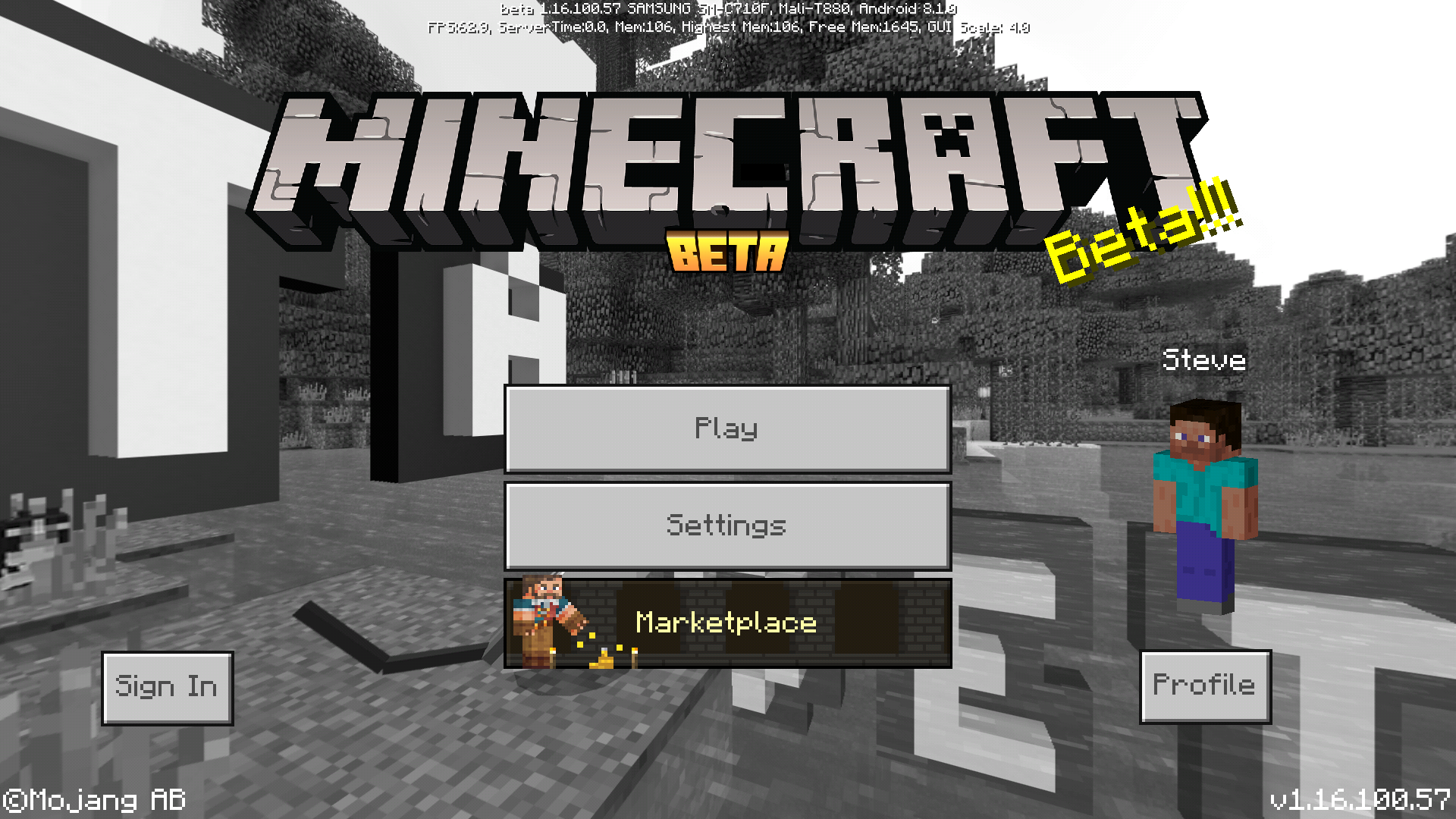 Bedrock Edition beta 1 16 100 57 Official Minecraft Wiki